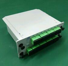 1X16 Blade optical splitter, PLC  carrier-class fiber optic splitter SC-APC/UPC