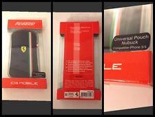 Etui portable ferrari nubuck  Luxe Iphone 4/4s 3