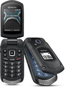 Kyocera DuraXA E4510 Rugged - Black (Cellcom / C Spire) Flip Phone  BlueGrass