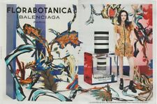 PUBLICITÉ PAPIER - ADVERTISING PAPER FLORABOTANICA DE BALENCIAGA (2 pages)