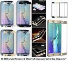 COMPLETO CURVADO 3d vidrio templado protector pantalla para Samsung Galaxy