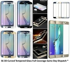 Full Curved 3D Tempered Glass Screen Protector For Samsung Galaxy S6 EDGE + PLUS