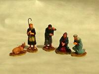 Lemax resin  5 Piece Nativity Scene Figures