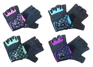 M.E.M Xtreme Fitness Weight Lifting Gloves Womens Workout Training Crossfit Gym