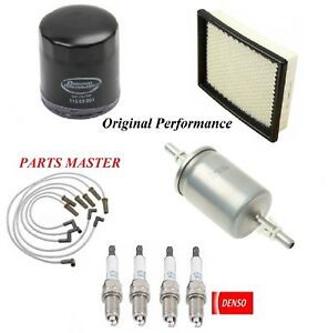 Tune Up Kit Filters Spark Plugs Wire For CHEVROLET LUMINA APV V6 3.8L 1992-1995