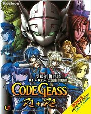 DVD Anime CODE GEASS Complete R1+R2 +Special +Akito The Exiled English Subtitle