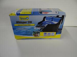 Tetra Whisper 20i In-Tank Internal Power Filter with BioScrubber OPEN BOX