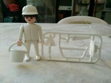 Playmobil Vintage 1974 Worker New With Accessories