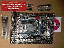 NEW Intel X79 (LGA 2011) Motherboard mATX DDR3 or ECC REG USB 3.0 WiFi OC