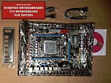 NEW Intel X79 (LGA 2011) Motherboard mATX DDR3 or ECC (Server) USB 3.0 WiFi OC