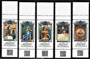 GUATEMALA 2021 NEW ISSUE INDEPENDENCE BICENTENNAIAL MINT NH