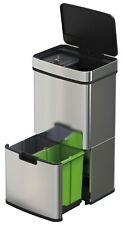Recycle Waste Bin 72L Sensor Control- Kitchen Bin, Rubbish, Food, Recycling