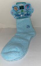 Earth Therapeutics Aloe Socks Blue - 1 Pair