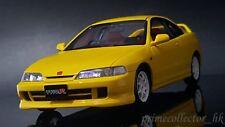 Kyosho Otto OTM717 1/18 Honda Acura Integra DC2 Type R. Yellow. *Asia Exclusive*