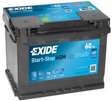 EK600 4 Year Warranty Exide Stop Start AGM Battery 60AH 680CCA