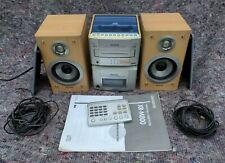 Aiwa XR-M800 Compact Disk Stereo System 2.1 VGC FREE P&P