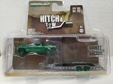 1/64 GREENLIGHT 2017 DodgeRam & Enclosed Trailer CHASE GREEN MACHINE Hitch & Tow