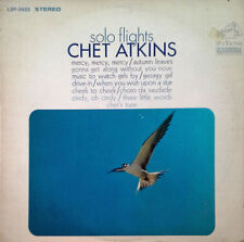 CHET ATKINS - SOLO FLIGHTS - RCA LP - STEREO PRESSING - ORANGE LABEL - 1968