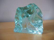 Vintage KOSTA Boda Iceberg Etched Deer Sculpture Signed Vicke LINDSTRAND  2 of 2
