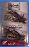 1 PACK Jewel Bait Co GS J-Lock 3/16 oz Finesse JIGS 3/0 Gamakatsu *Easy Money