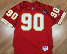 Wilson Pro Line Kansas City Chiefs 75th Anni Neil Smith NFL Jersey SZ 48 Pro Cut
