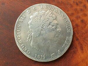 George Milled LIX Silver Crown 1819