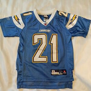 Reebok NFL San Diego Chargers LaDainian Tomlinson Powder Blue Jersey Youth Small