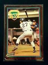 Derek Jeter #1 Action Packed Baseball Card, 1995 Minor League - Tampa Yankees