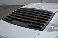 TRD Rear Window Louver TOYOTA 86 GT86 ZN6 All Models Matt black MS317-18001