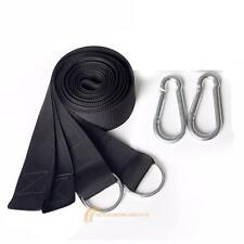 New Hanging Straps Rope Strong Strap Belt Hammock Tree Straps +2 Hooks Slings