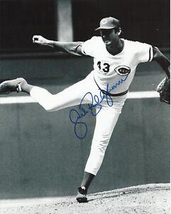 Jack Billingham 1975-1976 World Series Champs Cincinnati Reds Signed 8x10 Photo