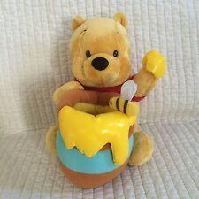 "Disney Tokyo Resort Winnie The Pooh 7"" Plush Honey Pot Bee"