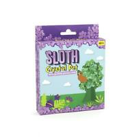 Grow Your Own Sloth Crystal Pet Growing Kit Glittering Pet Growing Starter