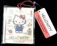 SANRIO Hello Kitty Cute Bag Charm Profile clear AS resin Keychain