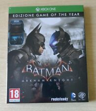 XBOX ONE X/S BATMAN ARKHAM KNIGHT GOTY GAME OF THE YEAR NUOVO SIGILLATO ITALIANO
