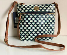NEW! TOMMY HILFIGER BLUE GREEN MEDIUM CROSSBODY SLING BAG PURSE $69 SALE