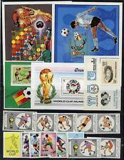 FOOTBALL / SOCCER CUP COLLECTION of 2 SETS + 5 S/S MNH A12