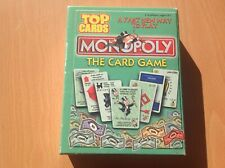 ⭐ Retro MONOPOLY The CARD GAME (2000) Travel Game TOP CARDS Deck 100% COMPLETE ⭐