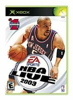 Xbox Nba Live 2003 Video Game NTSC T433
