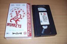 TWELVE MONKEYS VHS SPECIAL EDITION INC THE HAMSTER FACTOR