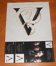 Bullet For My Valentine Venom Poster 2-Sided 2015 Flat Promo 18x12