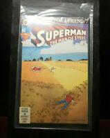 DC SUPERMAN THE MAN OF STEEL FUNERAL FOR A FRIEND 21 MAR COMIC BOOK!   DD869XXX