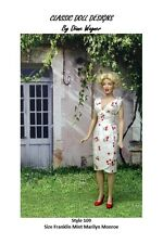 SEWING PATTERN-Style 109 To Fit Franklin Mint's Marilyn Monroe Doll