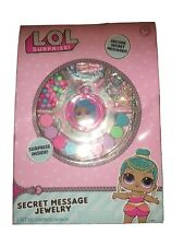 New Lol Surprise! Secret Message Jewelry Surprise Inside Charms Stickers Beads