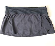 Nike Core Swim Skirt Size LARGE Solid Women's Large Color Thunder Blue Gray