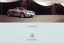 Mercedes  SLK Prospekt 2005 10/05 D brochure catalogue broschyr catalog broszura