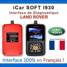 Valise Diagnostique LAND ROVER - iCar SOFT I930 - OBD2 - SCANNER - VCM2