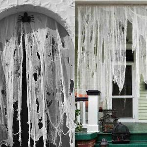 Halloween Creepy Spooky Cloth Party Home Decoration House Yard Decor Props Gauze