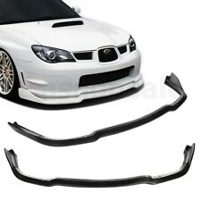 Fit for 06-07 SUBARU IMPREZA WRX CS2 C-Speed Style Front PU Bumper Lip