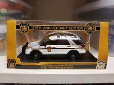 1:43 First Response Replicas FRR Pennsylvania State Police Ford Explorer SUV